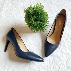 Michael Kors | Navy Blue Dorothy Flex Pumps